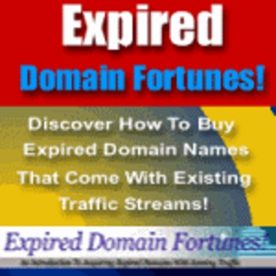 Product picture Expired Domain Fortunes! Make Money Online